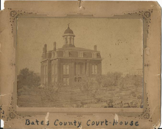Bates County Courthouse built 1870